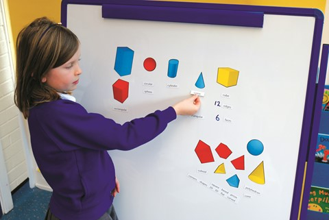 Magnetic 2D Representation of 3D Shapes