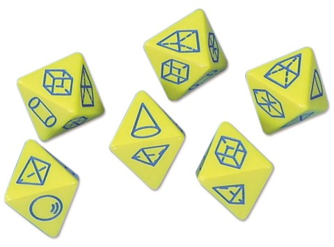 3D Shape Dice 8 Side