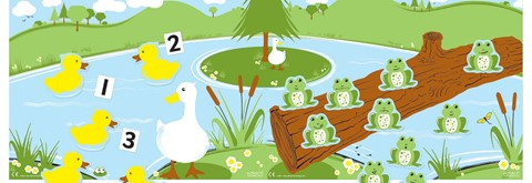Ducks and Frogs Set