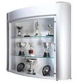 Wall Mounted Trophy Cases