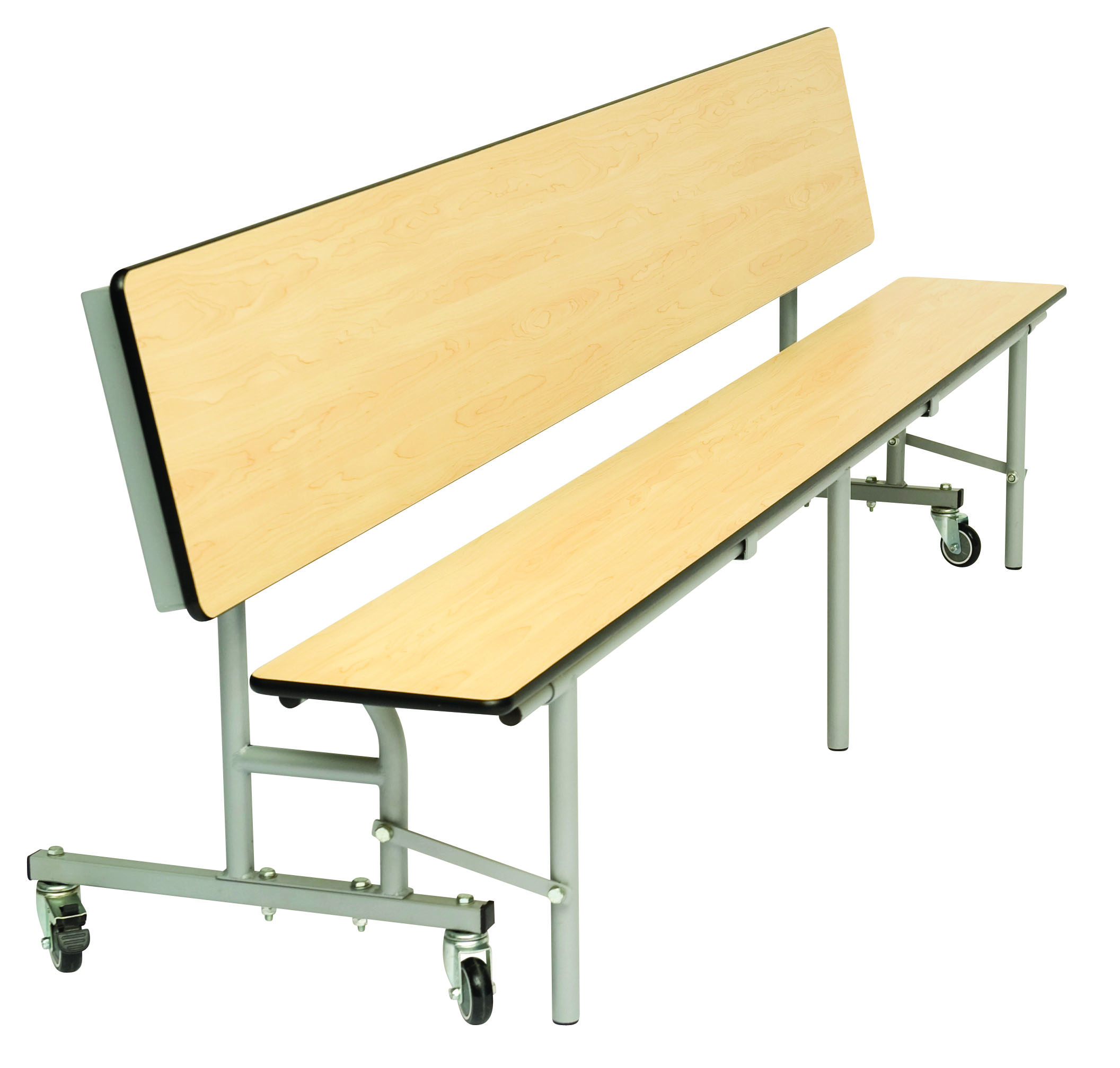 Convertible Mobile Folding Bench Unit