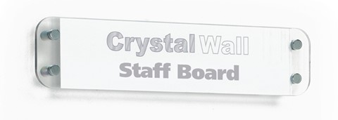 Crystal Wall Nameplate Board