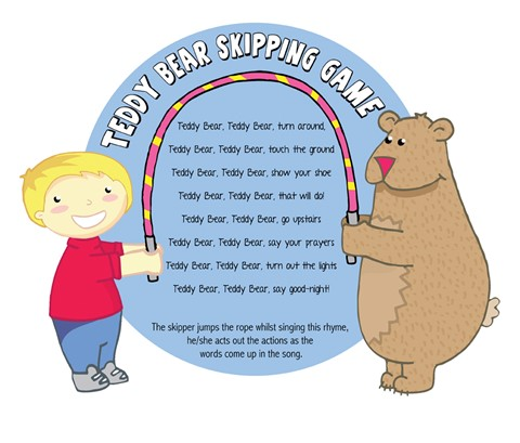 Skipping Games - Teddy Bear