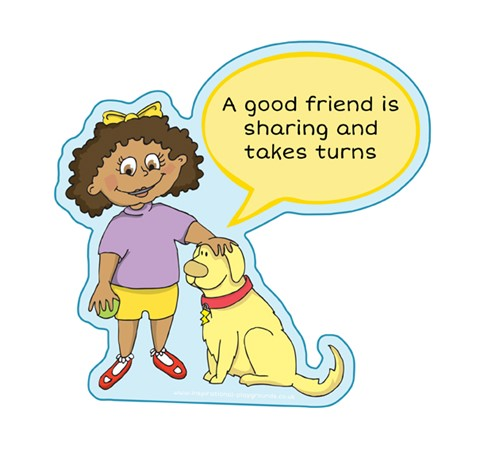 Good Friend - Sharing & Turns