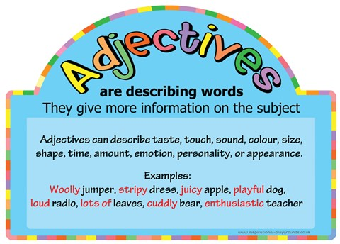 Literacy Basics - Adjectives