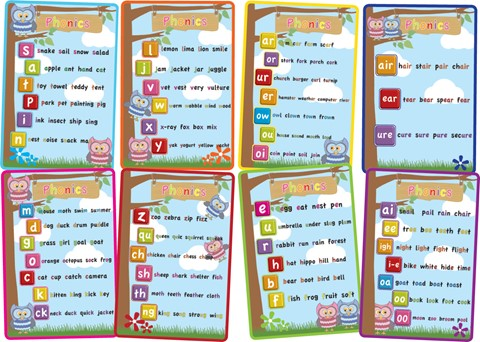 Phonics - Set of 8