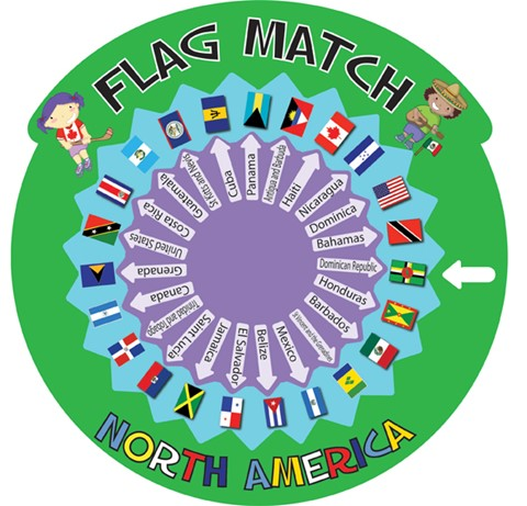 Flag Match - North America