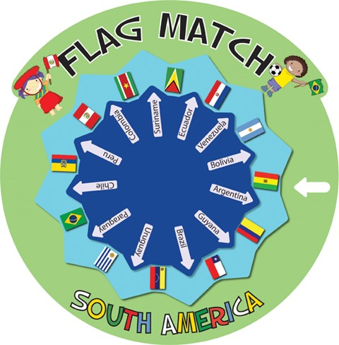 Flag Match - South America