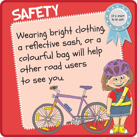 Safety - Bright cloth
