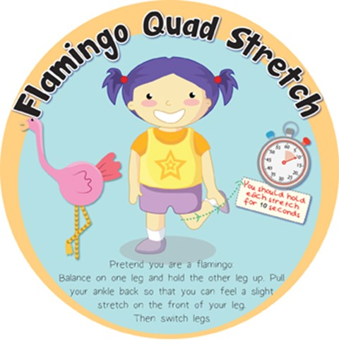 Stretches - Flamingo Quad
