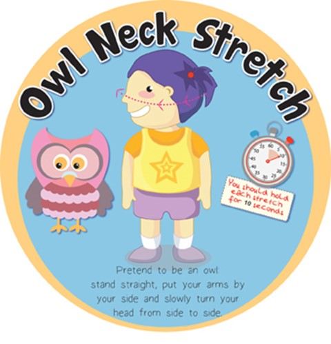 Stretches - Owl Neck