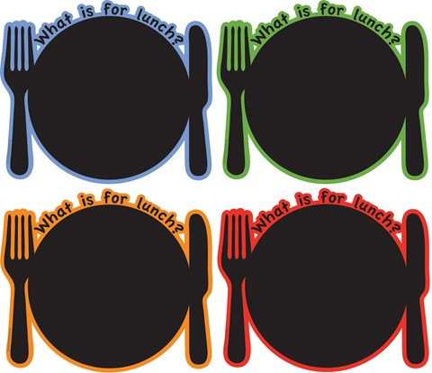 What's for lunch - Set of 4