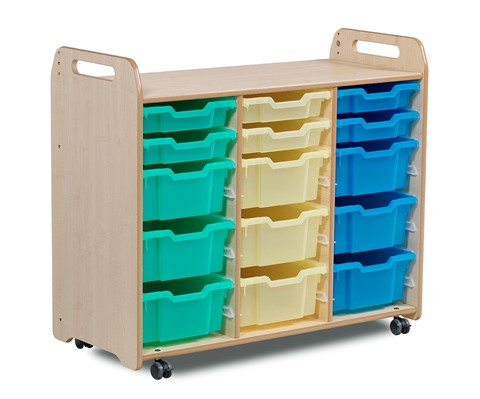 PlayScapes Tray Storage Unit (3 column) (900mm height)