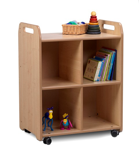 PlayScapes 2 Column Shelf Storage