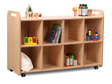 PlayScapes 4 Column Shelf Storage