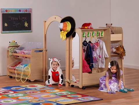 Mini Preschool Dressing Up Zone