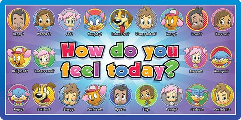 How Do You Feel Today Mural