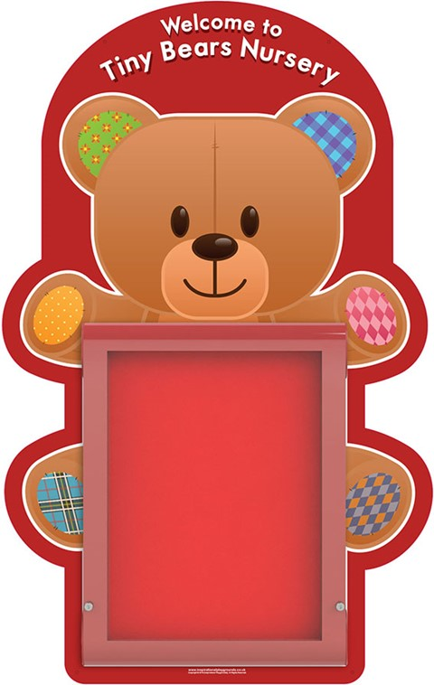 Weathershield Nursery/Primary Welcome Bear Sign