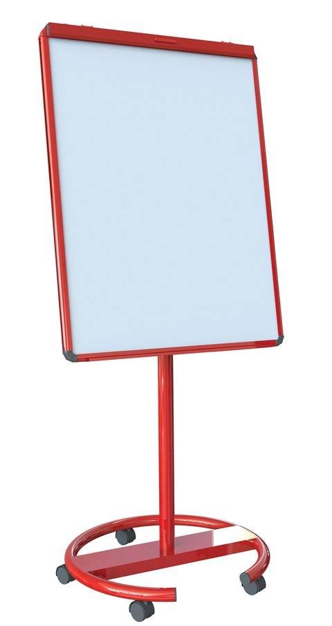 Ultramate Magnetic Round Base Flip Chart Easel