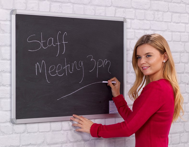 Chalk Writing Board
