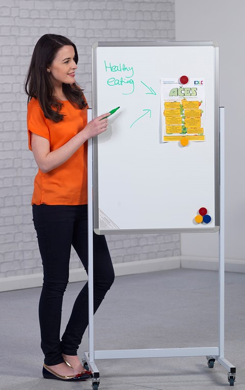 Magnetic Mobile Writing Board Portrait