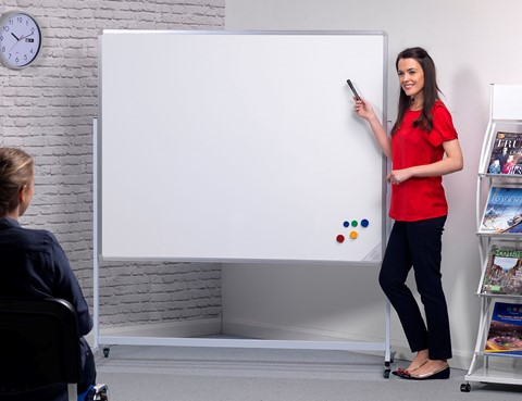 Magnetic Mobile Writing Board Landscape