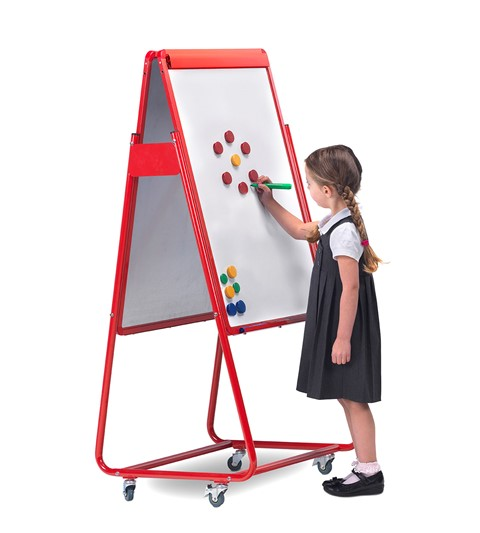 Little Rainbows Magnetic Display Easel Double Sided