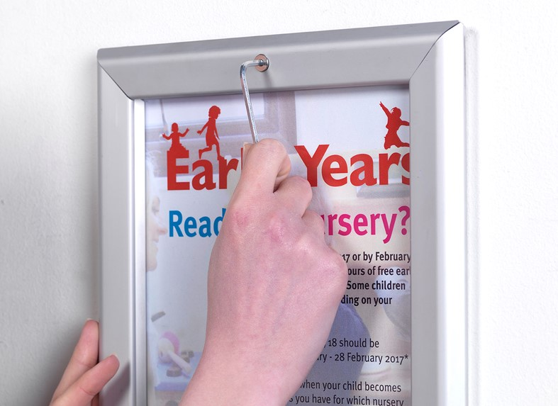 Tamperproof Poster Display Frame