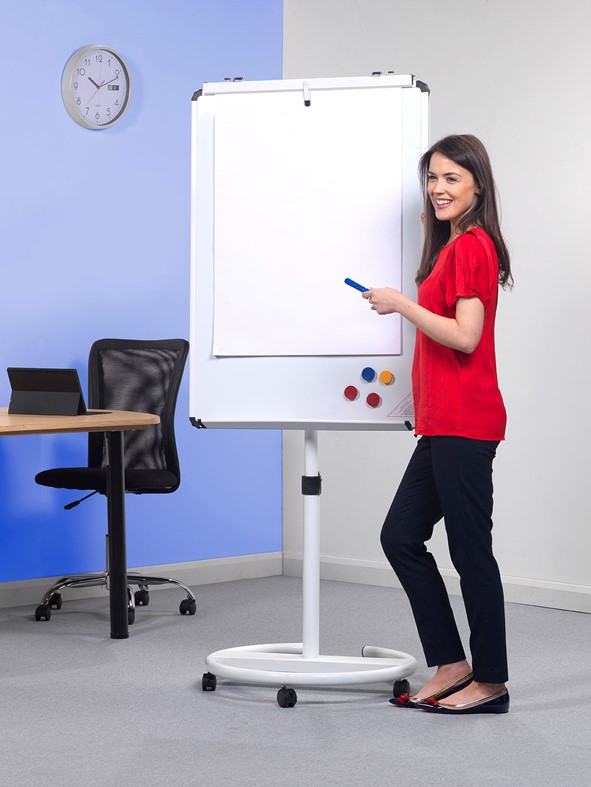 Mobile Easel Round Base