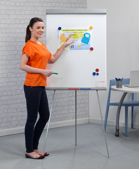 Telescopic Magnetic Easel & Writing Board