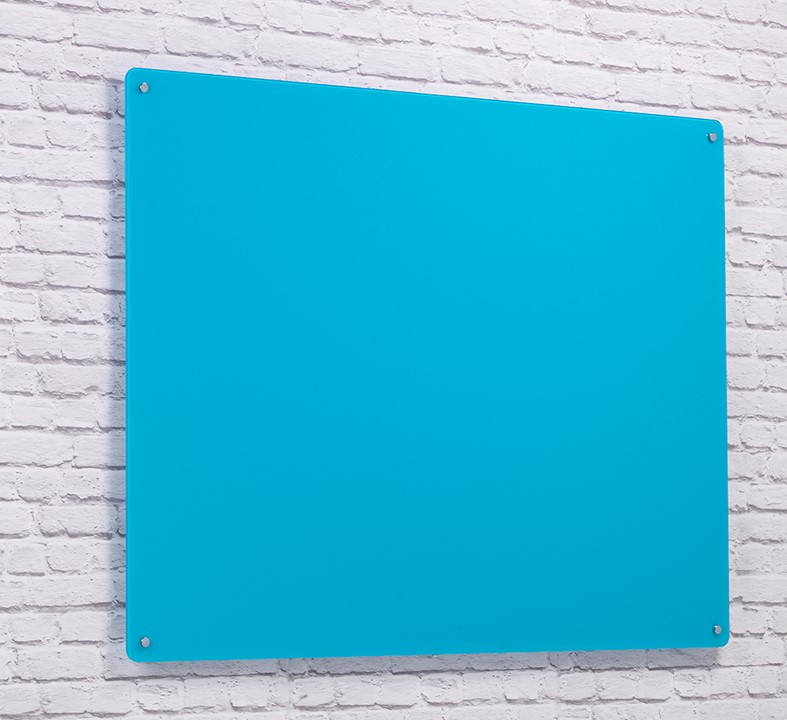 Wall Mounted Magnetic Glass Writing Board