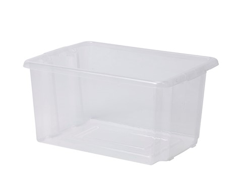 Set of 3 Clear Tubs