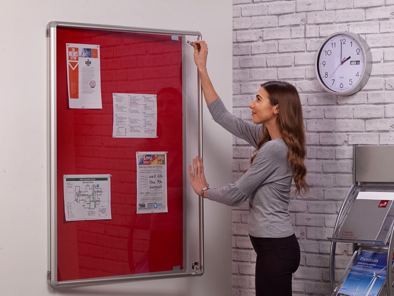 SmartShield FlameShield Tamperproof Noticeboard