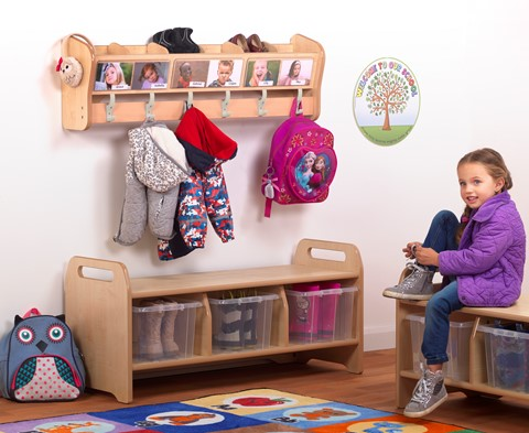 4 x Wall Mounted Cubby Sets