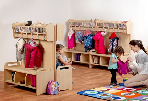 4 x Freestanding Cubby Sets