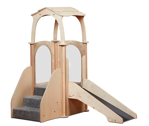 Step 'n' Slide Kinder Gym (with roof)