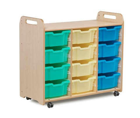 Tray Storage Unit (3 column) (900mm height)