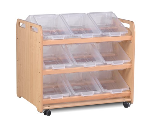 Tilt Tote Double-sided Storage