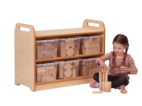 Tall Block Play Unit