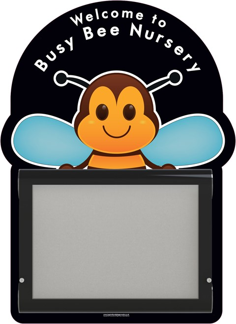 WeatherShield Wall Mounted Bee Welcome Sign