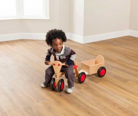 Toddler Trike and Trailer