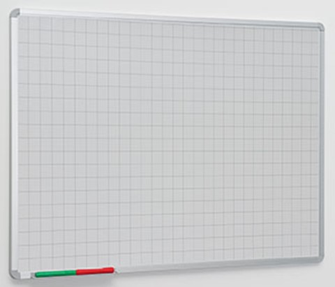 Non-Magnetic Line Writing Boards