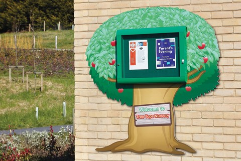 Weathershield Nursery/Primary Welcome Sign Tree