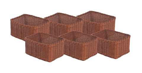 Set of 6 Large Baskets