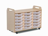 PlayScapes Tray Storage Unit (3 column) (730mm height)