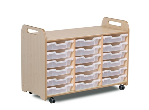 Tray Storage Unit (3 column) (730mm height)