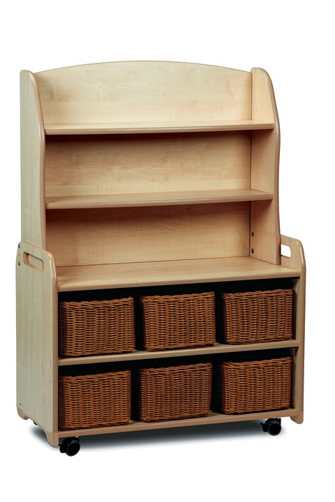 Mobile Welsh Dresser Display Storage