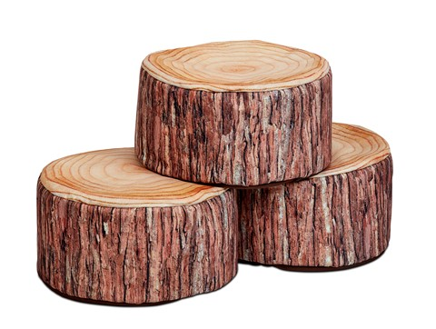 Small Log Seat (set of 3)