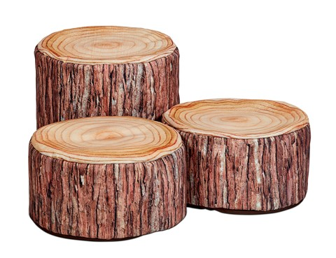 Log Set Combo (set of 3, 1 x large, 2 x small)