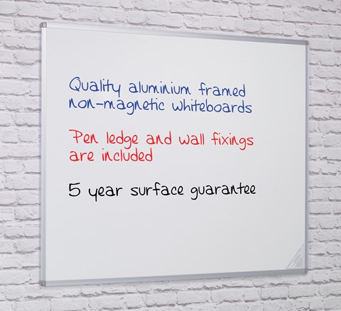 Non-Magnetic Writing Board